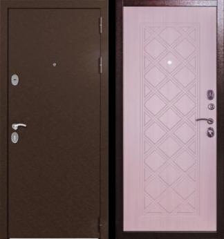 Дверь-Страж-Сотка-Сандал-белый
